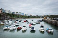 Walesisk kust, Pembrokeshire Royaltyfri Fotografi