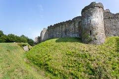 Walesisk slott Arkivbild