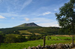Walesiska berg Arkivbilder