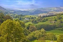 Walesiskt landskap Arkivfoton