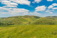 Walesiskt landskap nära Aberdovey Royaltyfri Fotografi