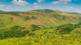 Walesiskt landskap nära Aberdovey Royaltyfria Foton