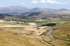 Walesiskt landskap Wales royaltyfri fotografi
