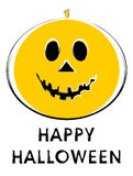 walety latarnia na halloween. Zdjęcia Royalty Free