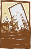 Walfang-Mühe-Farbe Stockfoto