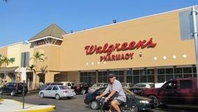 Walgreen的药店 库存照片
