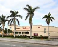 Walgreens在佛罗里达使店面服麻醉剂 库存图片