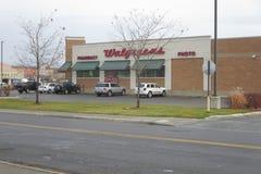 Walgreens apteki parking obraz royalty free