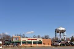 Walgreens dans Massena, New York images stock