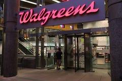 Walgreens pharmacy Stock Photography