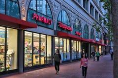 Walgreens pharmacy Royalty Free Stock Image