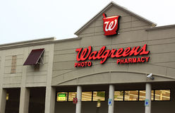 Walgreens Pharmacy Store. Walgreens Pharmacy Retail chain Stores, the number one pharmacy store in USA Stock Images