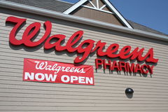 Walgreens store Royalty Free Stock Photos