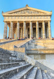 Walhalla- bavarian neoclassical temple Royalty Free Stock Image