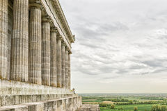 Walhalla with landscape Royalty Free Stock Images