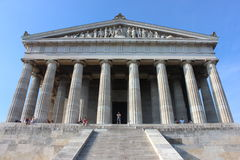 Walhalla memorial exterior Royalty Free Stock Photography