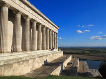Walhalla monumental building Royalty Free Stock Photo