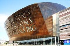 Walia milenium Centre, Cardiff Zdjęcia Royalty Free