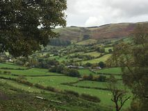 Walijska dolina zdjęcie royalty free