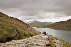 Walijski widok górski zdjęcie royalty free