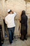 Waling墙壁在耶路撒冷 图库摄影