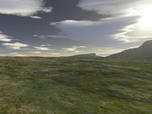 Waliser-Landschaft - 1 Lizenzfreie Stockbilder