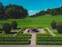 Waliser-Park und -rotwild Lizenzfreie Stockfotografie