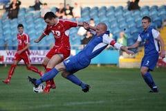 Waliser-Premier Football Lizenzfreies Stockfoto
