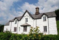 Waliser-viktorianisches Bauernhaus 01 Stockbild
