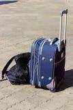 Walizka i plecak Zdjęcie Stock