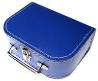 walizka odizolowana dziecka Zdjęcia Royalty Free