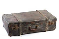 walizka odosobniony rocznik zdjęcia stock