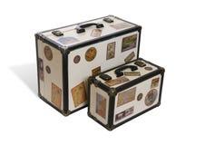 walizka podróżnych światu. Obraz Royalty Free