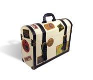 walizka podróżnych światu. fotografia stock