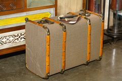 walizka retro obraz stock