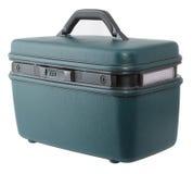walizka zielony rocznik Zdjęcia Royalty Free