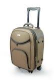 walizki beżowa podróży Zdjęcie Stock