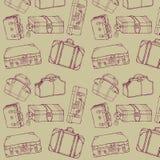 walizki bezszwowa podróż Fotografia Stock