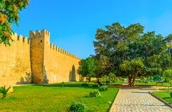 The walk along the citadel wall Stock Images