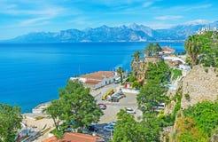 The coast of old Antalya Stock Photos