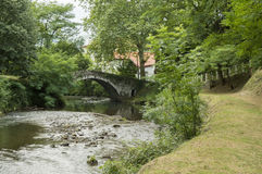Walk along the river in Saint Jean Pied de Port Royalty Free Stock Images