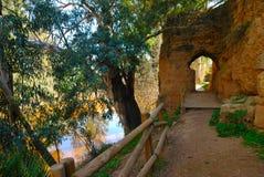 Walk along the Tinto river Royalty Free Stock Image