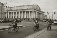Walk around the city. Royalty Free Stock Image