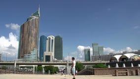 Walk on Astana stock footage