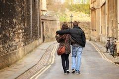 Walk away Stock Image
