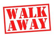 WALK AWAY Stock Photography