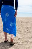 A walk on the beach Royalty Free Stock Image