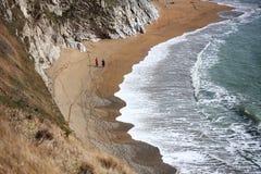 Walk on the beach Royalty Free Stock Photo