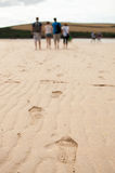 Walk on the beach Stock Photos