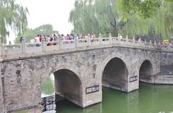 On a walk in Beihai Park Royalty Free Stock Photo